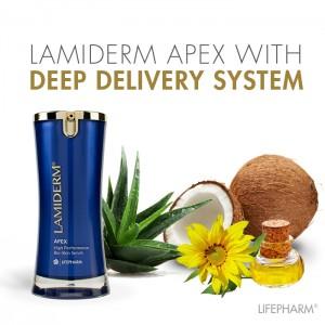Ламидерм Апекс - серум за подмладяване на кожата - 15 ml
