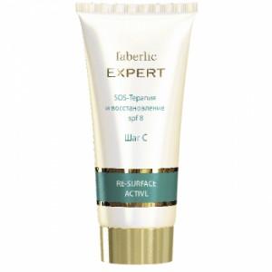 Крем SOS-терапия и възстановяване за чувствителна кожа SPF8- серия EXPERT
