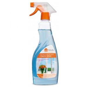 Препарат за почистване и миене на стъкла и огледала с антизапотяващ ефект